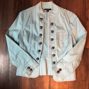 Jackets & Blazers - Light blue jacket
